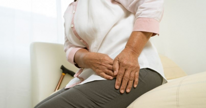 Hip pain old age