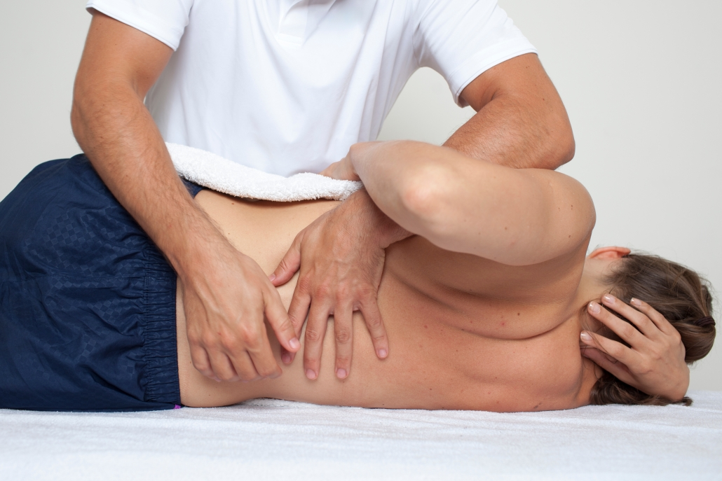 hands on treatment for back pain