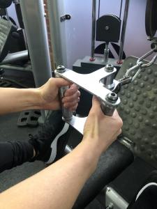 shoulder pain exercise - hand grip