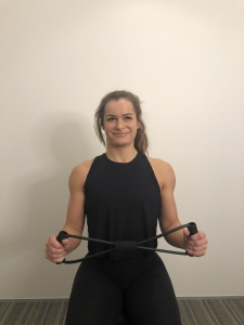shoulder exercise - return to start position