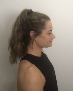 correct posture for neck pain stretch