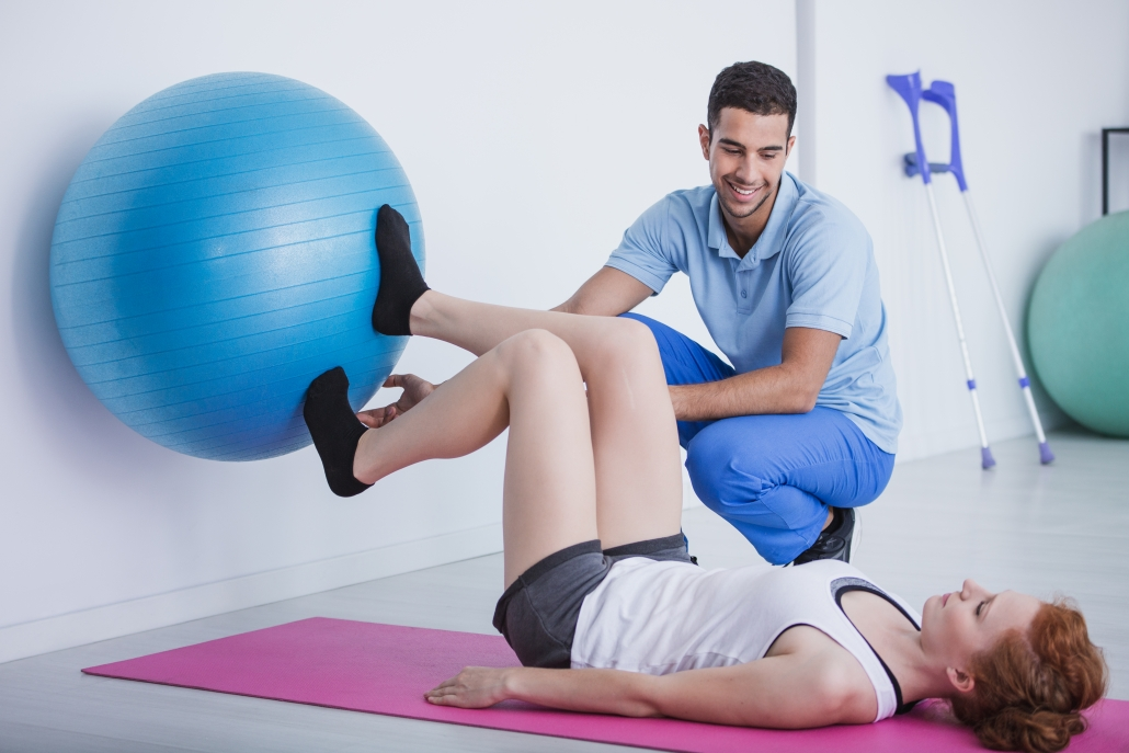 exercises uses for back pain with medicine ball.